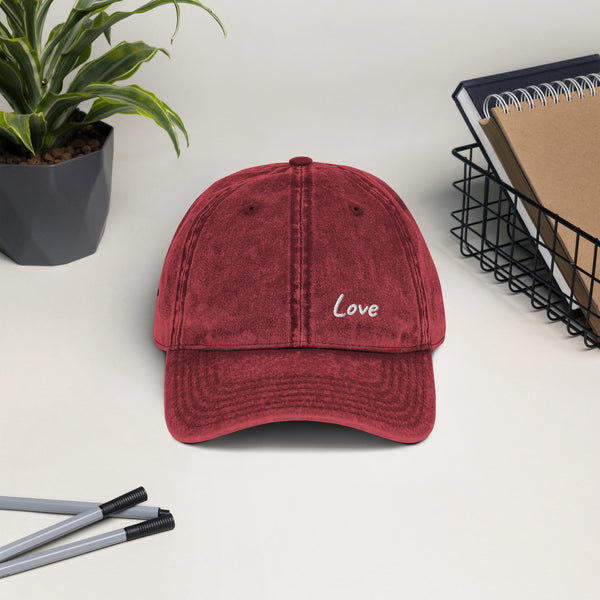 LOVE MoRe - Vintage Cotton Twill Cap