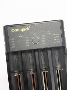 SunJack USB Battery Charger for Rechargeable NiMH / NiCd / IMR / Li-ion / LiFePO4 Batteries