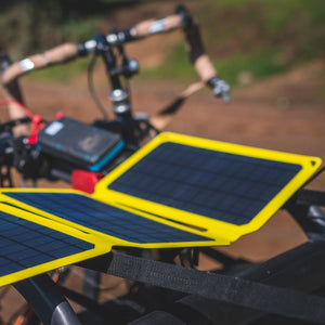 SunJack 25W Portable Solar Charger Panel + 2 Powerbanks