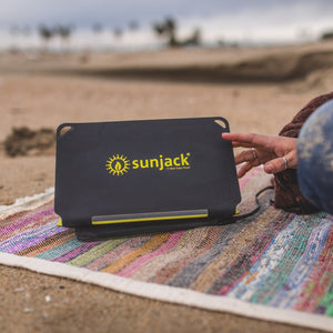 SunJack 15W Portable Solar Charger Panel