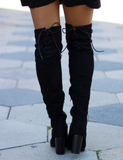 Tall Order Boot - Black