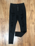 Into The City Jeans - Black