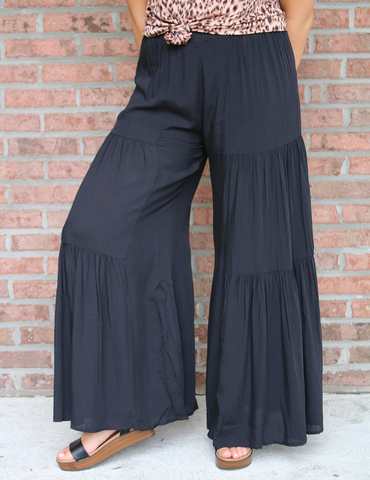 Walk My Way Pants - Black