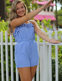 Back For You Romper - Blue