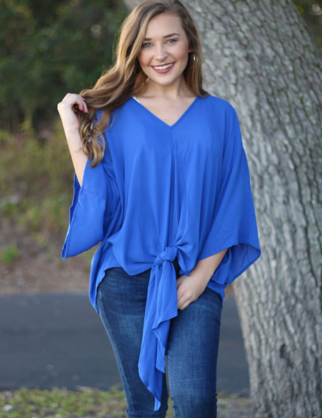 Secret Crush Top - Royal Blue