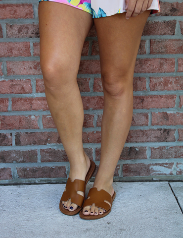 The Perfect Fit Sandal - Tan