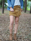 The Perfect Look Skort - Camel