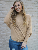 Adorable Find Top - Camel