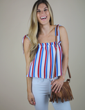 Buddy Love: In The Summer Heat Top - Multi