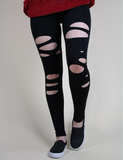 Forget Your Worries Leggings - Black
