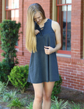 Z Supply: All Tied Up Dress In Black