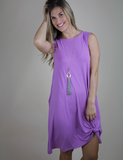 Always There For Me Dress - Dark Mauve