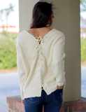 Getting Back Together Sweater - Cream