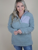 Get Closer Pullover - Grey - Monogram Me!