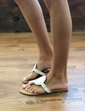 Interchangeable Sandals - White
