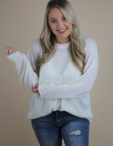 Winter Is Coming Sweater - Ivory