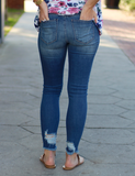 My Best Friend Jeans - Medium Blue