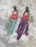 Macrame Key Chain