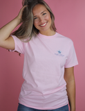 Simply Southern Tide Reach Tee - Light Pink
