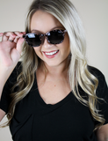 Quay Australia: Walk On Tortoise Smoke Sunnies