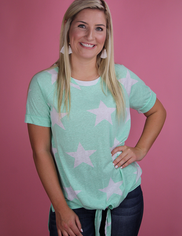 Star Of The Show Top - Mint