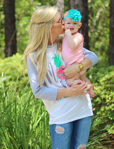 Simply Southern Mom Life Is The Best Life - White