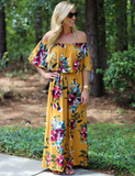 A One Time Fling Maxi - Mustard