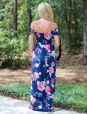 Catch These Vibes Maxi Dress - Navy