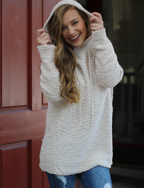 Can't Forget You Sweater - Taupe