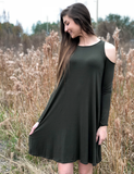 Must You Ask Dress - Olive