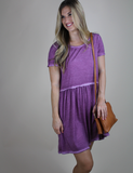 Stay Casual Dress - Mauve