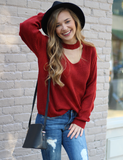 Must Be You Sweater - Red