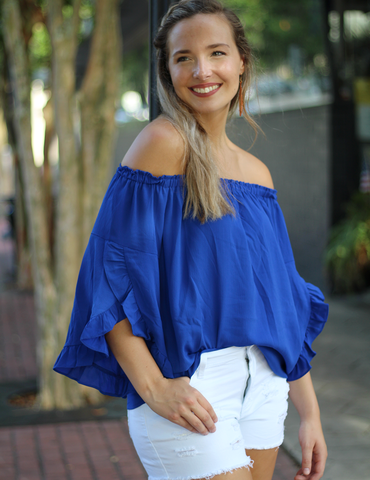My Harmony Top - Blue