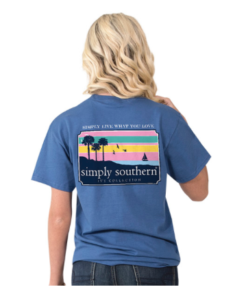 Simply Southern Preppy Scenes - Moonrise