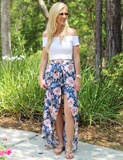 Everyday Vacay Skirt - Blue