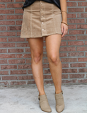 Better For It Skirt - Sand
