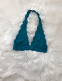 Caught Your Gaze Bralette - Teal