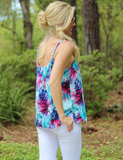 Buddy Love: Vacation Romance Top - White