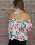 Back To The Tropics Top - Ivory