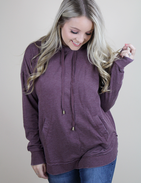 Z Supply: The Dakota Pullover - Midnight Berry