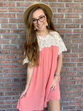 Ever So Charming Dress - Salmon