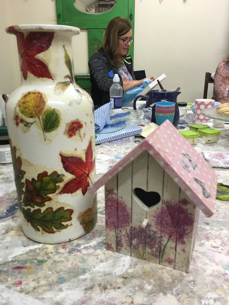 Decoupage  Workshop - Part 2  Wednesday 21st February 2018