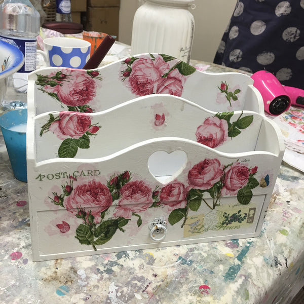 Decoupage Workshop Part 2  - 25th April 2017