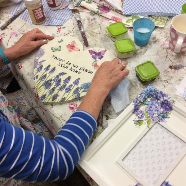 Decoupage  and Image Transfer  Workshop    - Wednesday 17th January 2018