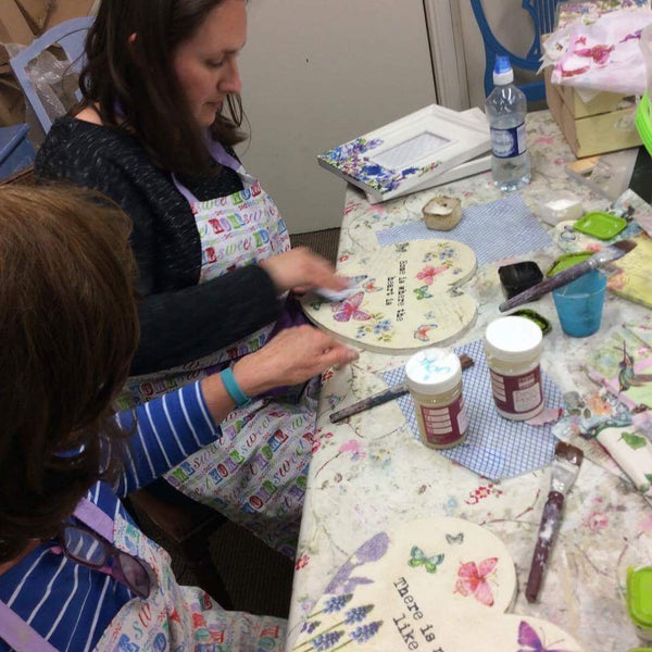 Decoupage  and Image Transfer  Workshop    - Wednesday 25th April 2018