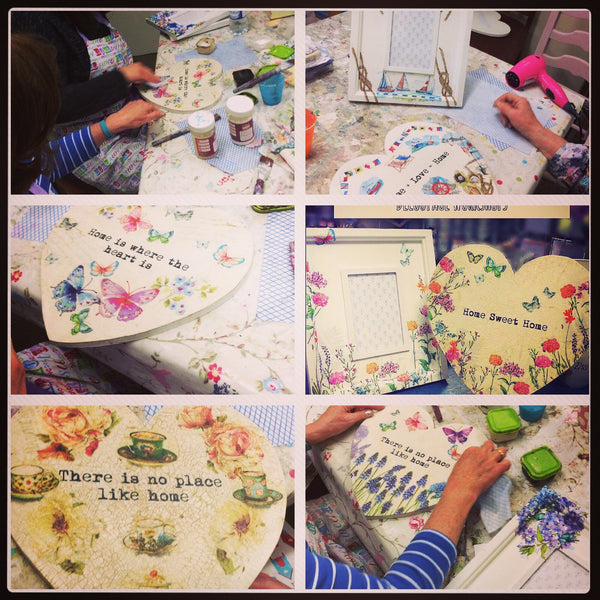 Decoupage and Image Transfer Workshop - Tues 5th June 2018