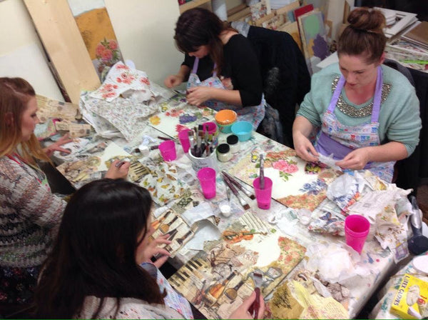 Image Transfer and Decoupage  Workshop -  30th April  2019