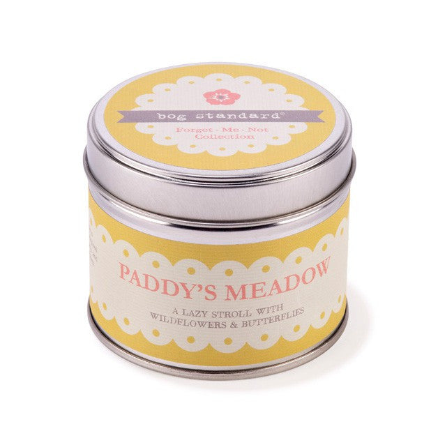 PADDY'S MEADOW CANDLE TIN - Doris and Jeannie