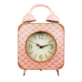 Modern morocco table clock - Doris and Jeannie