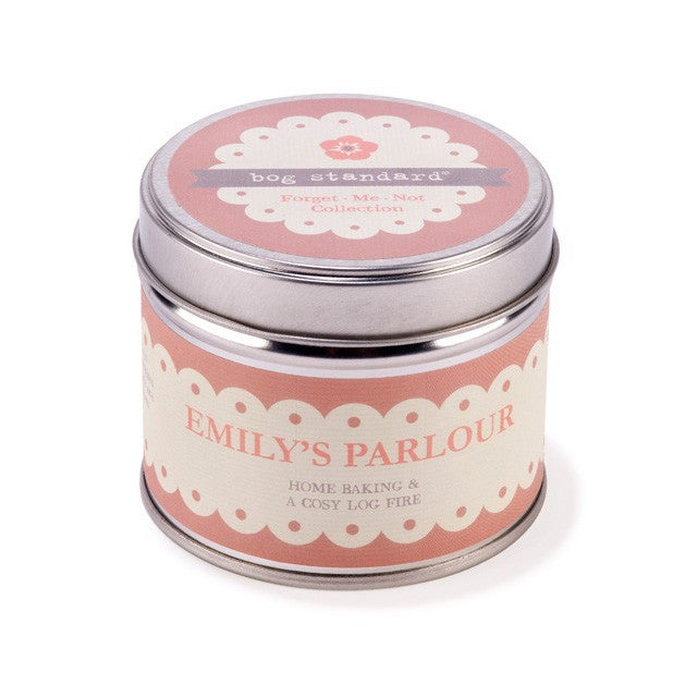 EMILY'S PARLOUR CANDLE TIN - Doris and Jeannie